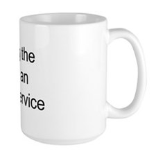 ecosystem service Mug