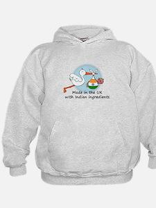 Stork Baby India UK Hoodie
