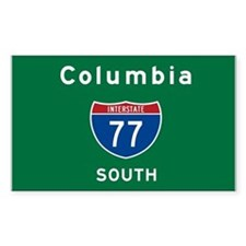 Columbia 77 Decal