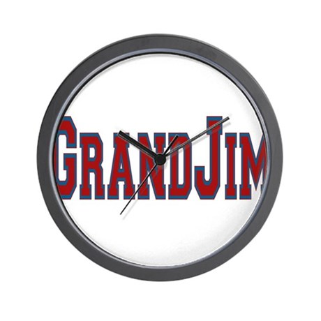 Grandfather Jim Wall Clock