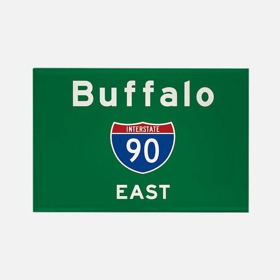 Buffalo 90 Rectangle Magnet