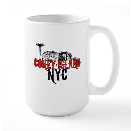 Coney Island NYC Large Mug