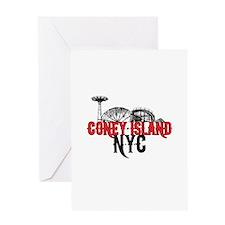 Coney Island NYC Greeting Card