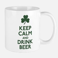 KEEP CALM Shamrock Mug