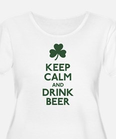 KEEP CALM Shamrock T-Shirt
