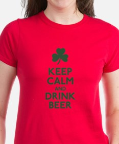 KEEP CALM Shamrock Tee
