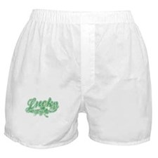 Lucky Irish Shamrock Boxer Shorts