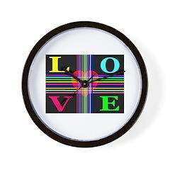 Love Rays Classic Wall Clock