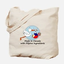Stork Baby Philippines Canada Tote Bag