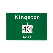 Kingston 401 Rectangle Magnet