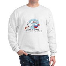 Stork Baby Russia Canada Sweater