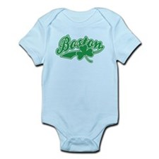 Boston Irish Shamrock Infant Bodysuit