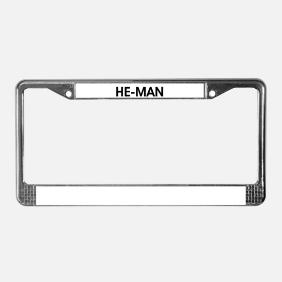 HE-MAN License Plate Frame