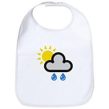 Rain Showers Symbol Bib