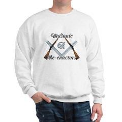Masonic War Re-enactors Sweatshirt