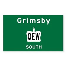 Grimsby QEW Decal