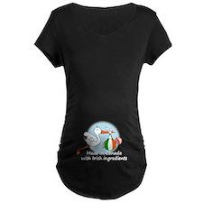 Stork Baby Ukraine Canada T-Shirt