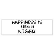 Happiness is Niger Bumper Bumper Sticker
