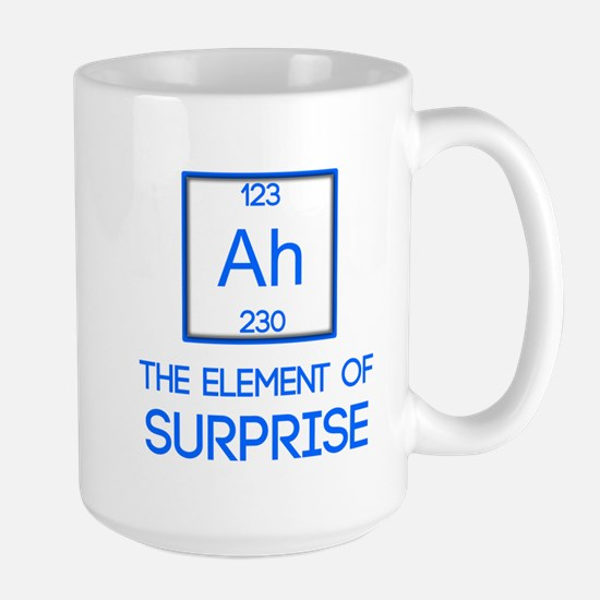 Ah - The Element of Surprise Mugs