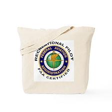 FAA Certified Recreational Pilot Tote Bag