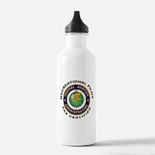 FAA Certified Recreational Pilot Water Bottle