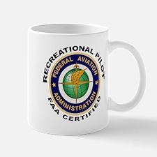 FAA Certified Recreational Pilot Mug