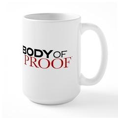 Body of Proof Logo Large Mug