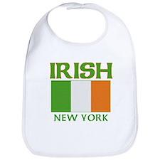 New York Irish Flag Bib