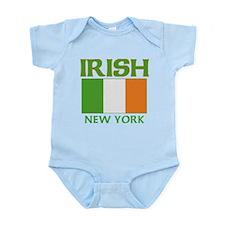 New York Irish Flag Infant Bodysuit