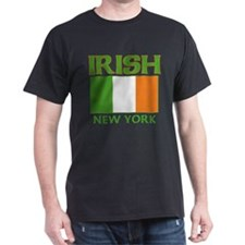 New York Irish Flag T-Shirt
