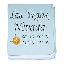 Las Vegas, Nevada baby blanket