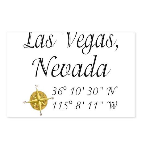 Las Vegas, Nevada Postcards (Package of 8)