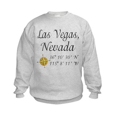 Las Vegas, Nevada Kids Sweatshirt