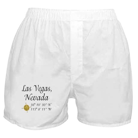 Las Vegas, Nevada Boxer Shorts