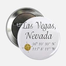 """Las Vegas, Nevada 2.25"""" Button"""