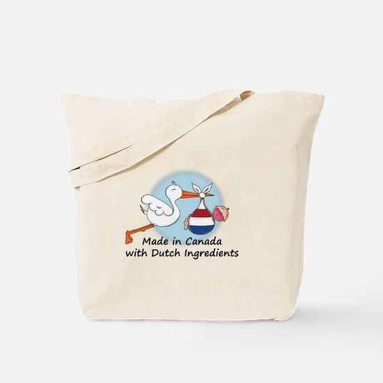 Stork Baby Netherlands Canada Tote Bag