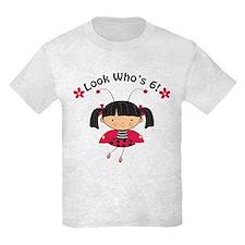 Ladybug 6th Birthday T-Shirt