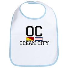 Ocean City NJ - Nautical Design Bib