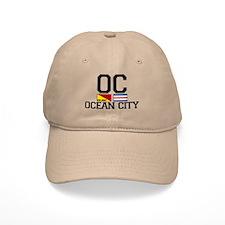 Ocean City NJ - Nautical Design Cap