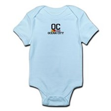 Ocean City NJ - Nautical Design Infant Bodysuit
