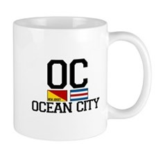 Ocean City NJ - Nautical Design Mug