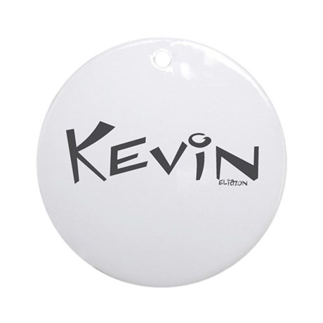 Kevin Ornament (Round)
