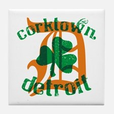 Corktown Tile Coaster