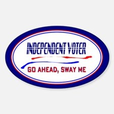 Independent Voter Decal