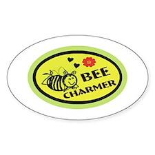 Bee Charmer Small Decal