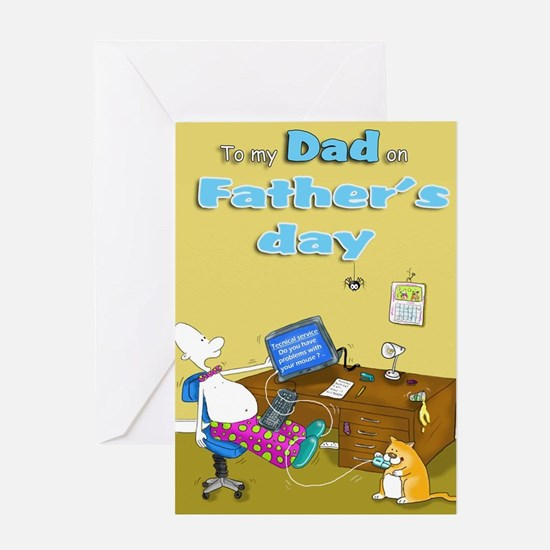 funny Father's day Dad Card