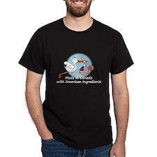 Stork Baby USA Canada T-Shirt