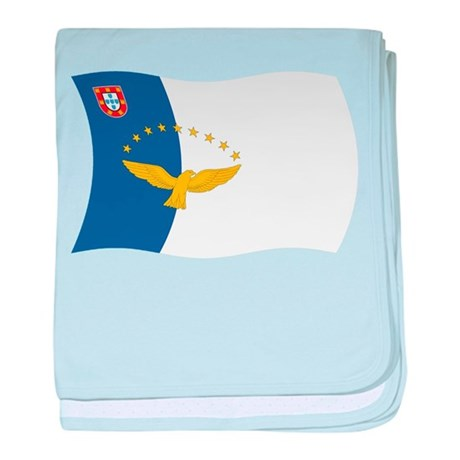 Azores Flag baby blanket