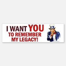 Reagan Legacy Bumper Bumper Bumper Sticker