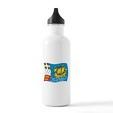 Cute Pierre Sports Water Bottle